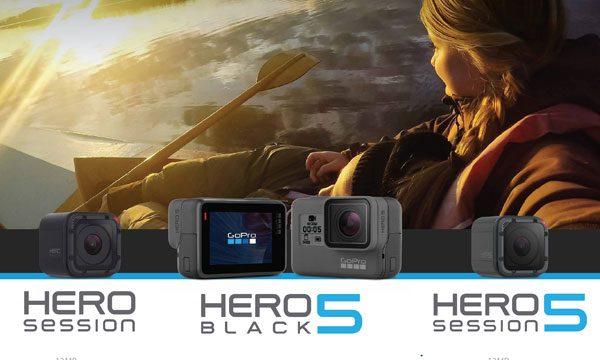 GoPro – Conheça a família Hero!