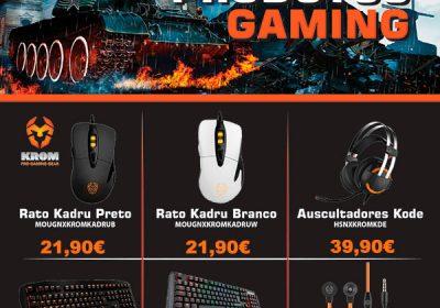 NOX novos produtos GAMING