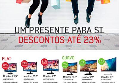 Samsung Descontos até 23%